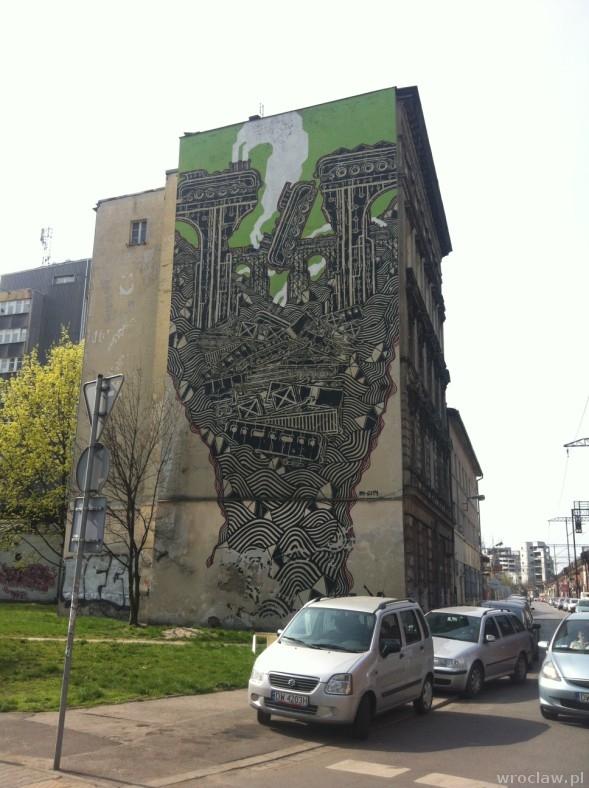 mural przy ul. Nasypowej